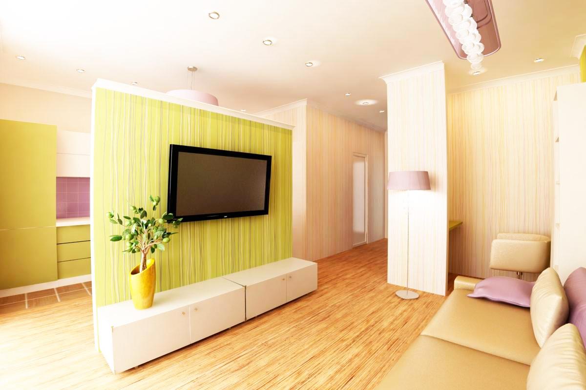 Дизайн квартиры студии: 75 функциональных идей, советы, видео